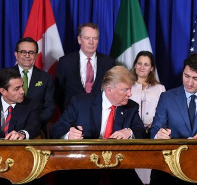 Unclear what Canada, U.S. and Mexico have signed amid bickering over USMCA details