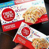 Fiber One Birthday Cake Bars Exist, So We Can All Sh*t Rainbow Sprinkles!