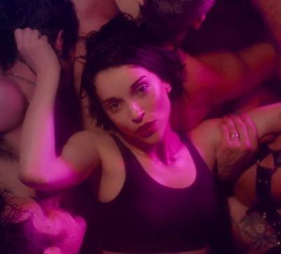 Watch St. Vincent party with leather daddies in her steamy new video