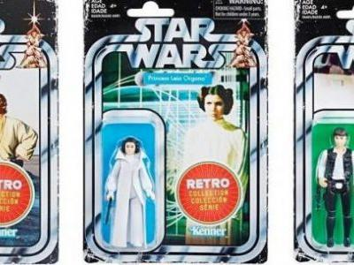 Hasbro Announces Retro 'Star Wars' Action Figures Based on Classic Kenner Toys