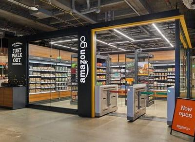 Amazon shows off compact cashier-free store that could show up at airports