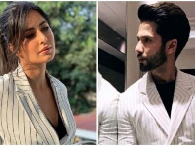 Shahid Kapoor copies Katrina Kaif's outfit for Kabir Singh promotions. Her reply is winning the internet
