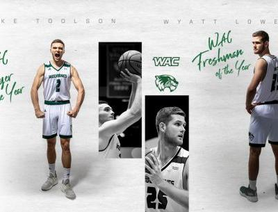 UVU's Jake Toolson named WAC player of the year; Lowell tabbed freshman of the year