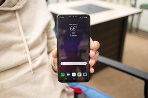 AT&T beats Sprint and T-Mobile to the Android Pie punch for the LG V40 ThinQ