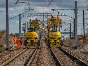 Shotts Line Electrification Goes Live