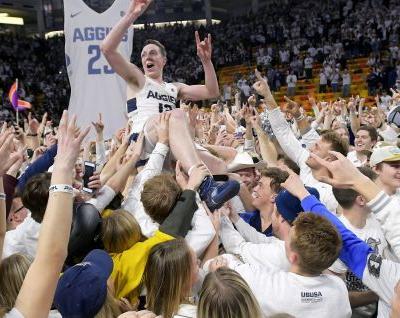 No longer the scrappy underdogs, Utah State won't take any team by surprise in Mountain West Tournament