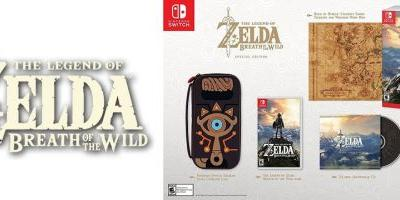 Daily Deals: The Legend of Zelda: Breath of the Wild Special Edition Available for Preorder