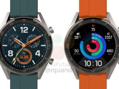 Huawei Watch GT will apparently get 'Active' and 'Elegant' variants w/ higher price tag
