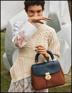 Burberry celebrate Henry Moore with stunning sculptural collection
