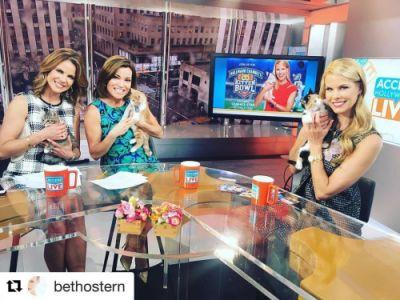 Kitten Bowl IV host, bethostern will be on Access Hollywood