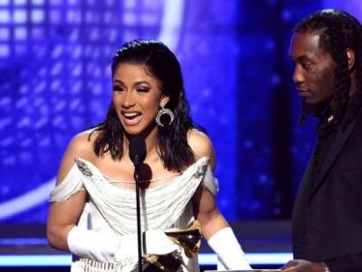 Cardi B's Grammy Acceptance Speech About Her Daughter Was Too Cute