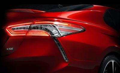 OMG, It's the 2018 Toyota Camry's Taillight