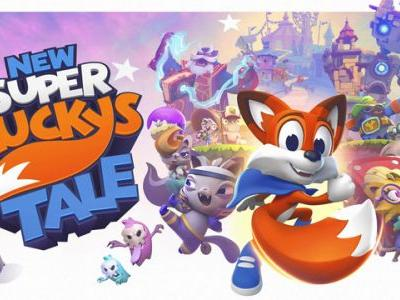 E3: Microsoft's New Super Lucky's Tale Announced for Switch