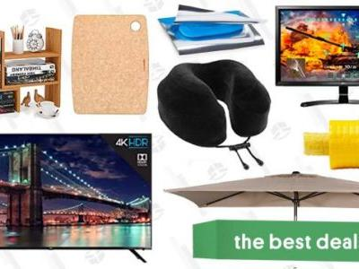 Saturday's Best Deals: 4K Smart TVs, Travel Pillows, Umbrellas, and More