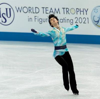 Chen tops Hanyu to win men's free skate at World Team Trophy