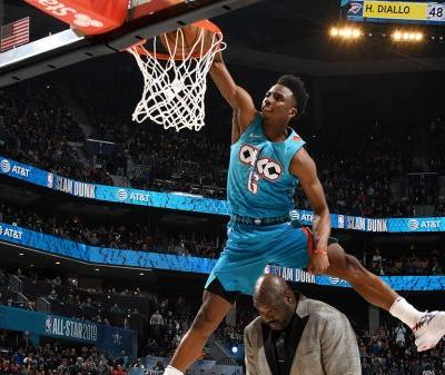 Every Dunk from the 2019 NBA Slam Dunk Contest 💥