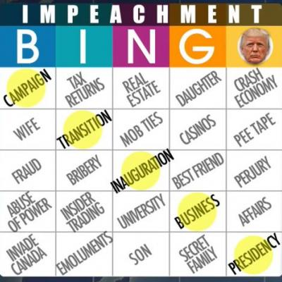 SNL's Weekend Update Plays Impeachment Bingo, and So Can You!