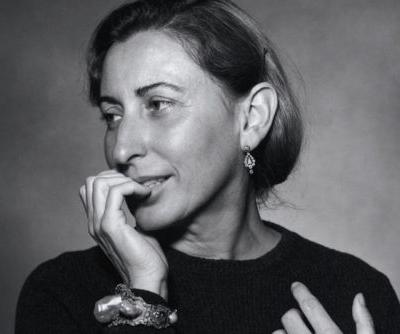 "Miuccia Prada Will Be Honored for ""Outstanding Achievement"" at the 2018 Fashion Awards"