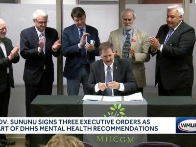 Gov. Sununu signs 3 executive orders as part of DHHS mental health recommendations