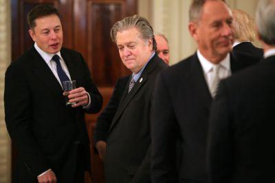 Elon Musk says he put travel ban on the agenda as he defends continued Trump council participation