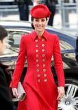 Kate's Red Coat Might Be 5 Years Old, but We're Definitely Happy to See It Again