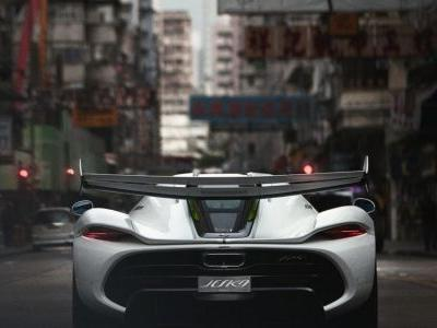 A peek at the ghostly 300mph, US$3 million Koenigsegg Jesko in Hong Kong