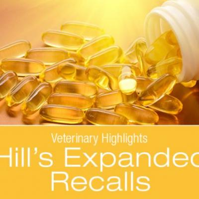 Veterinary Highlights: Recalls Due to Elevated Levels of Vitamin D