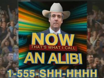 """Late Show Parodies Giuliani Ally's 'Garth Brooks Defense' as Music Collection: 'The Greatest Cover Songs to Cover Your Ass"""""""