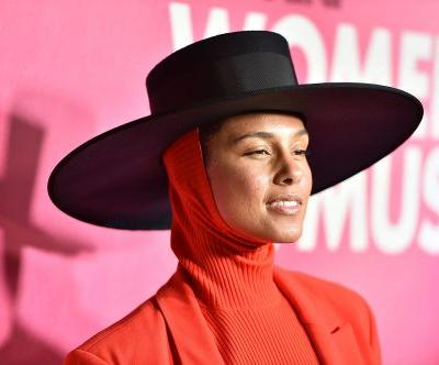 Alicia Keys' 2019 Grammys Dress Solidifies Her As The Girl On Fire