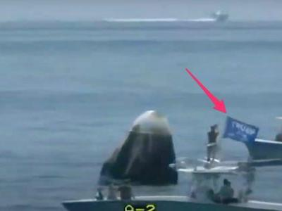 Boaters, one flying a Trump flag, swarmed SpaceX's historic landing on Sunday and endangered NASA astronauts - and they'll never be punished