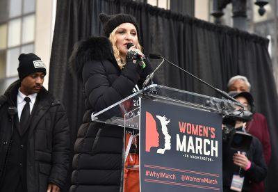 Texas Radio Station Bans Madonna Over Women's March Speech