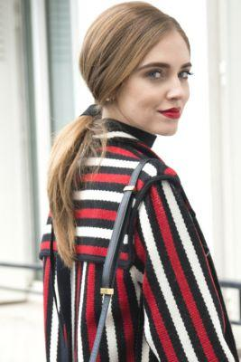 20 New Ways To Wear A PonytailChiara Ferragni swapped out a hair