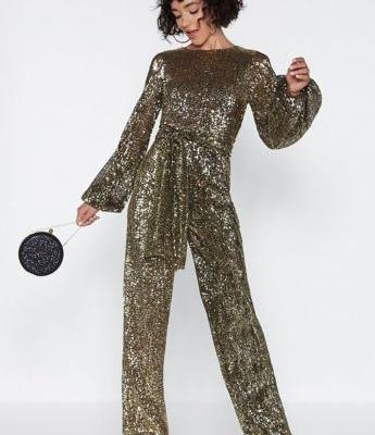 Sequin Jumpsuits Are the Trendiest Way to Dress Up This Holiday Season