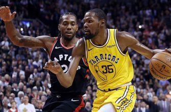 Nick Wright on KD- Kawhi potentially teaming up: 'It would become the best duo in the league'