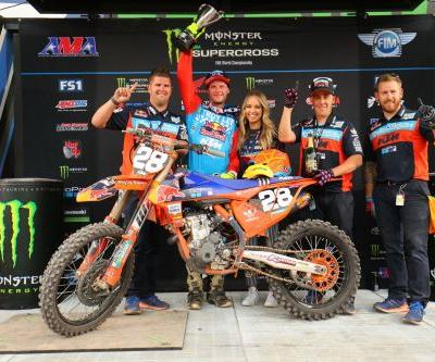 Troy Lee Designs/Red Bull/KTM's McElrath Races To The Top In Utah