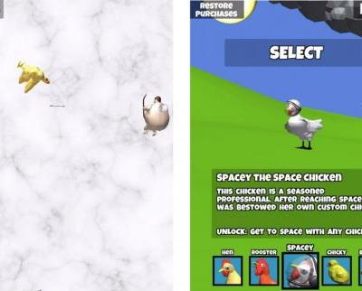 ChickenPOP! is a casual game about getting a chicken high