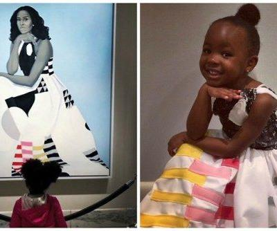 The Viral 3-Year-Old Who Stood in Awe of Michelle Obama's