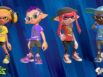NoA PR - Pick Your Favorite Teenage Mutant Ninja Turtle in Tubular New Splatoon 2 Splatfest