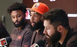 Beckham calls trade to Browns surreal and a blessing