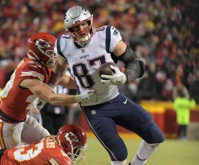 Rob Gronkowski sums up AFC Championship win vs. Chiefs: 'One of the sweeter victories'