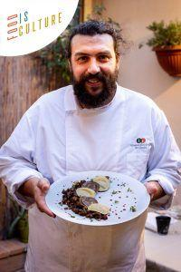 The Food is Culture cooking challenge presents Christian Borchi