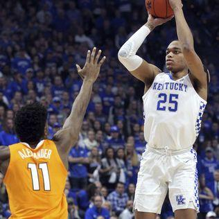 No. 5 Kentucky upsets No. 1 Tennessee 86-69 in top-5 matchup