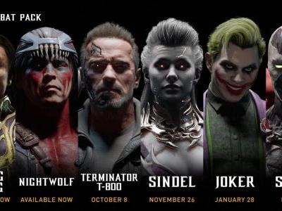 Mortal Kombat 11 - Kombat Pack Roster Revealed, Terminator and Joker Revealed