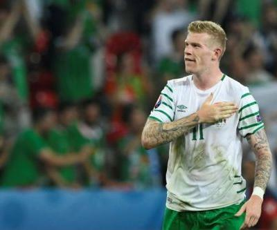 Ireland star McClean fined over balaclava post