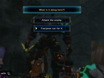 Death End re;Quest Attack The Enemy Or Run For It