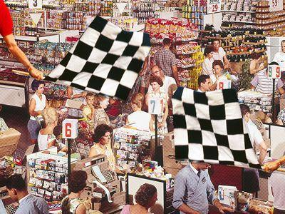 A Journey Through the Many Worlds of 'Supermarket Sweep'