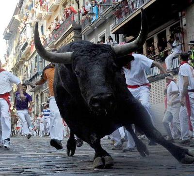 At least 3 people gored as running of the bulls begins in Spain