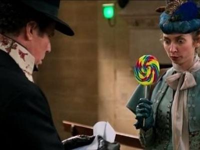 """What did it mean to hand over a cat drawing in """"Holmes and Watson""""?"""