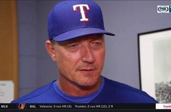 Banister on loss: 'I thought Mike Minor threw the ball well'