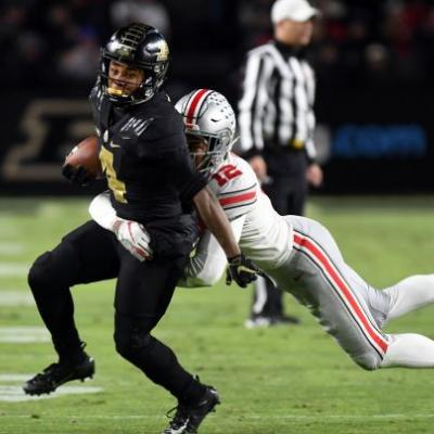 College football's No. 2 team upset again as Purdue routs Ohio State